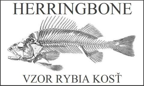 vzor rybia kosť