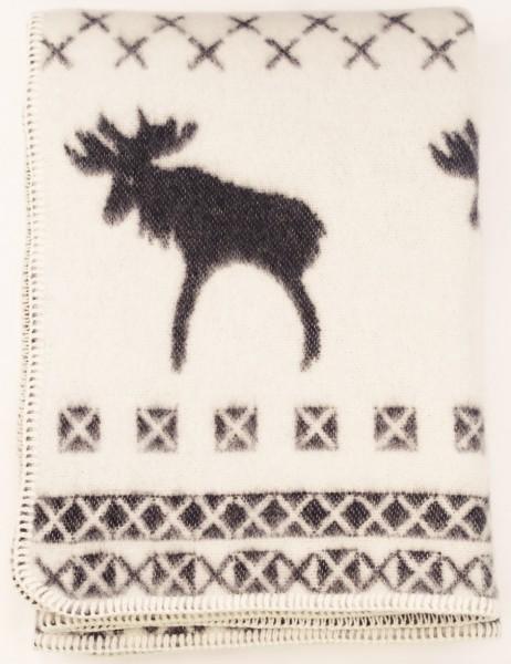 Vianočná deka - soby