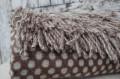 kvalitná deka z alpaky hnedá