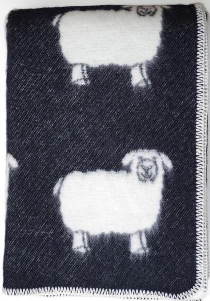 Vlnená deka s ovečkami