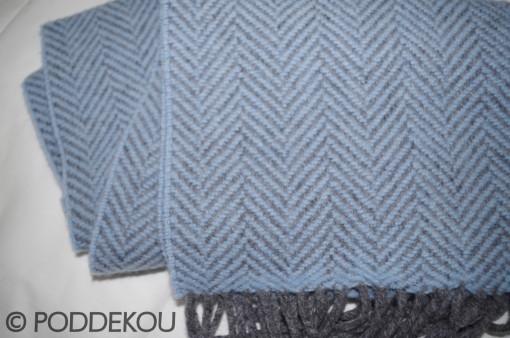 vlnený šál