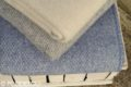 Elegantná vlnená deka - modrá