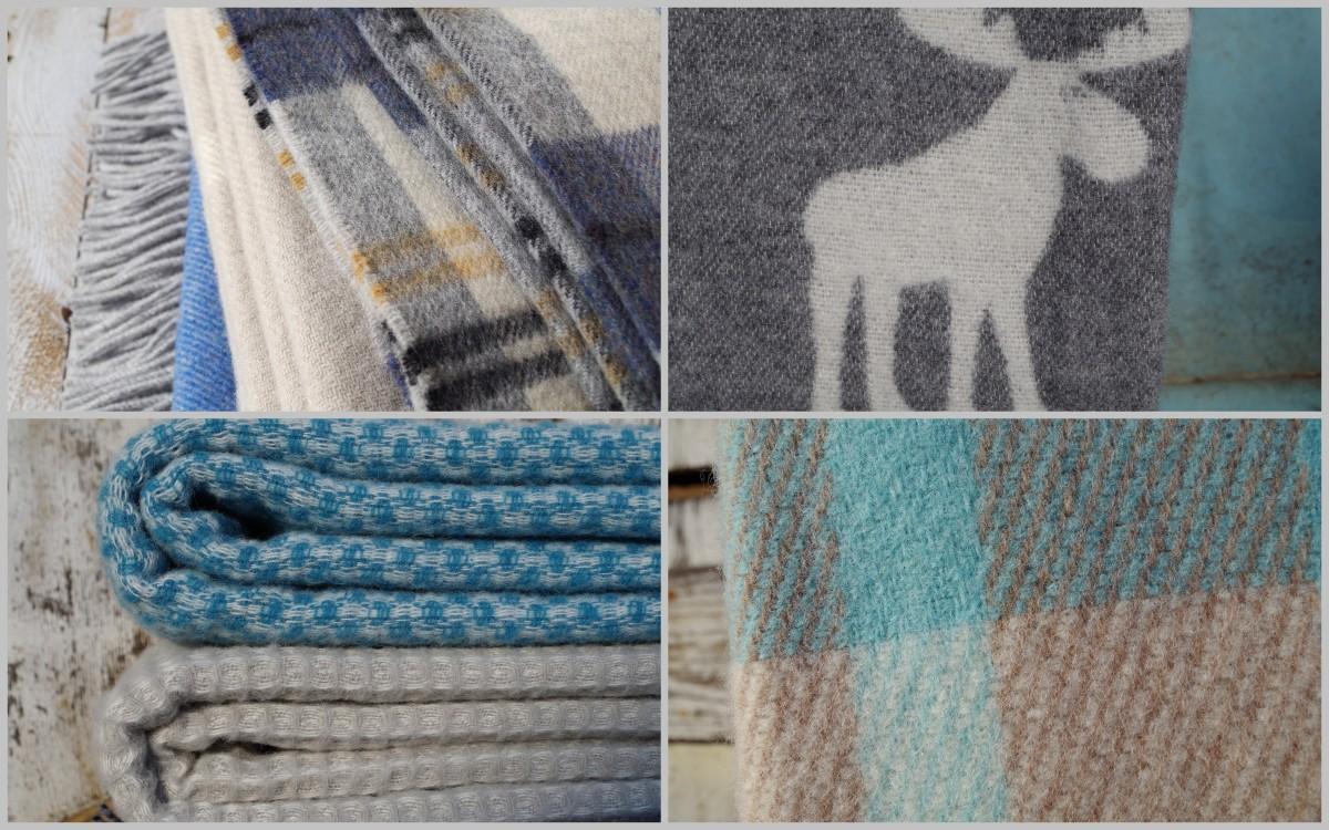 kvalitné vlnené deky v škandinávskom štýle