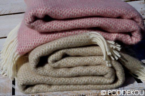 Kvalitná deka vlnená žiarivé letné farby deky