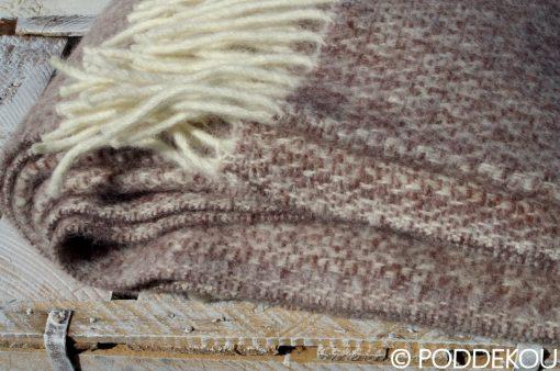 Kvalitná deka hnedá, prehoz na posteľ hnedý, prikrývka na posteš hnedá